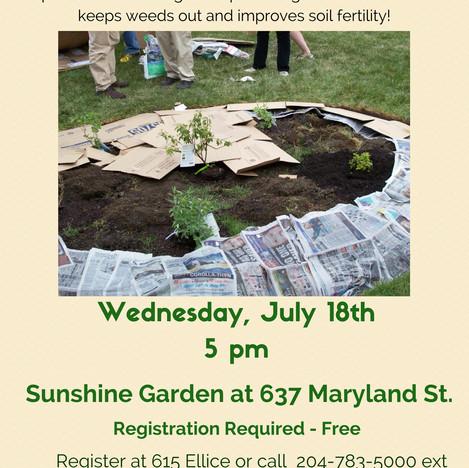 Lasgna Gardening Workshop