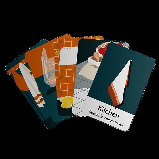 Zero Waste game cards