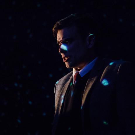 Richard Delaney as Alan Turing in THE UNIVERSAL MACHINE