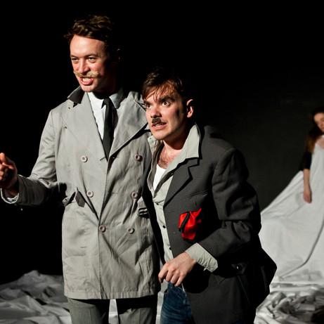 Richard Delaney as Toby Belch in TWELFTH NIGHT