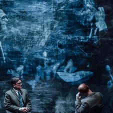 Richard Delaney as Jacob Bronowski in SECRET LIFE OF HUMANS (Edinburgh)