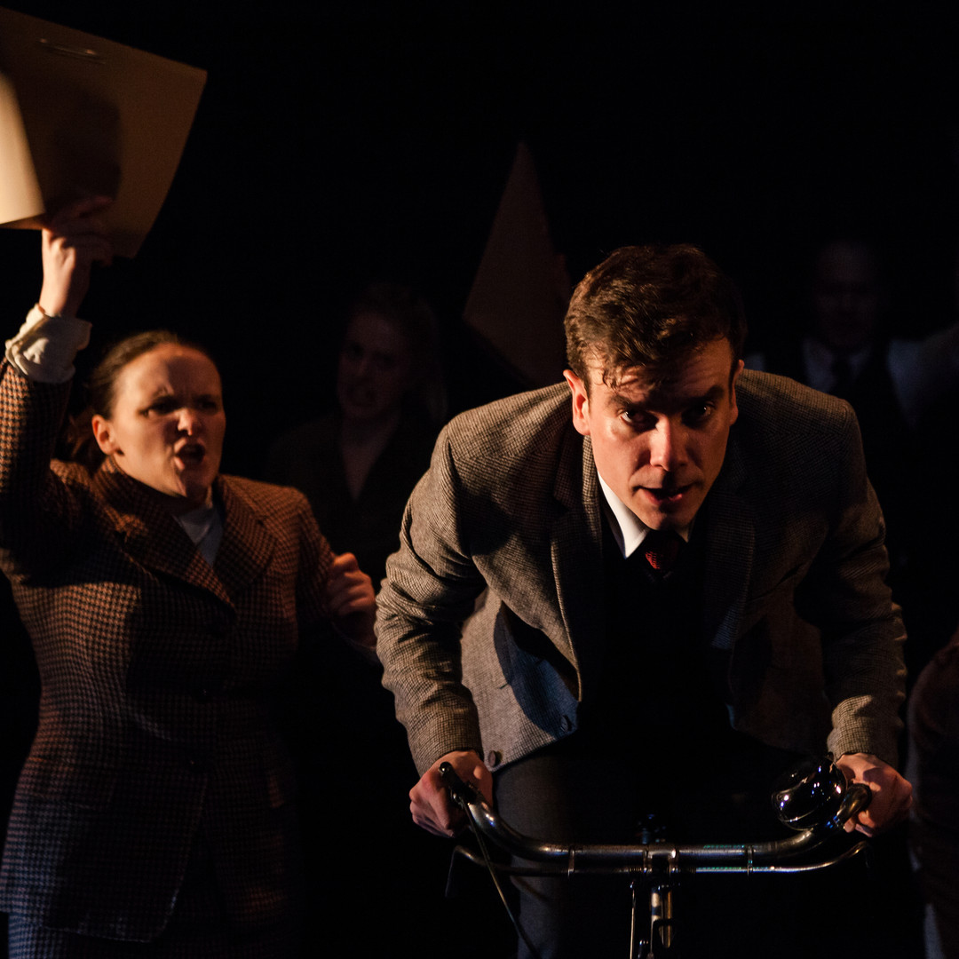 Richard Delaney as Alan Turing in THE UNIVERSAL MACHINE