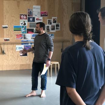 Richard Delaney Leading A Workshop