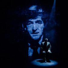 Richard Delaney as Jacob Bronowski in SECRET LIFE OF HUMANS (London and Off-Broadway, NYC)