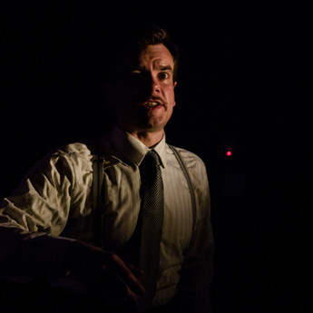 Richard Delaney as George Orwell in DOWN & OUT IN PARIS AND LONDON