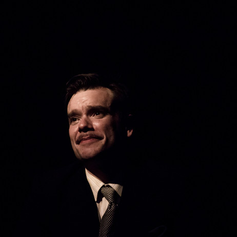 Richard Delaney as George Orwell in DOWN & OUT IN PARIS AND LONDON (Edinburgh Run)