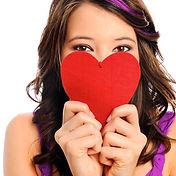 coração da menina