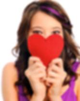 corazón de la muchacha