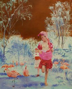 ich bin kein flamingo