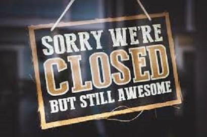 Venues Are Temporarily Closed!