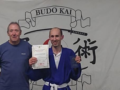 Sixth Kyu Awarded!