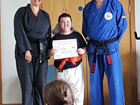 Orange Certificates Presented!