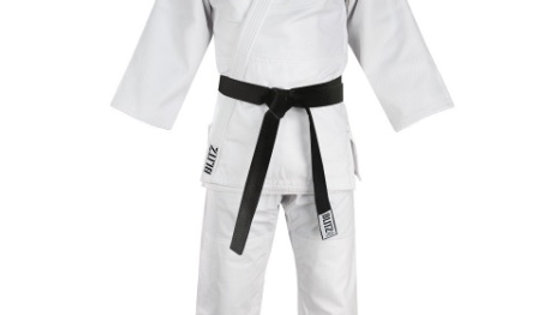 Heavyweight Judo Suit - White - 750g: Size 3 (160cm)