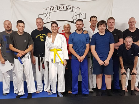 Award Certs and a New 5th Kyu!