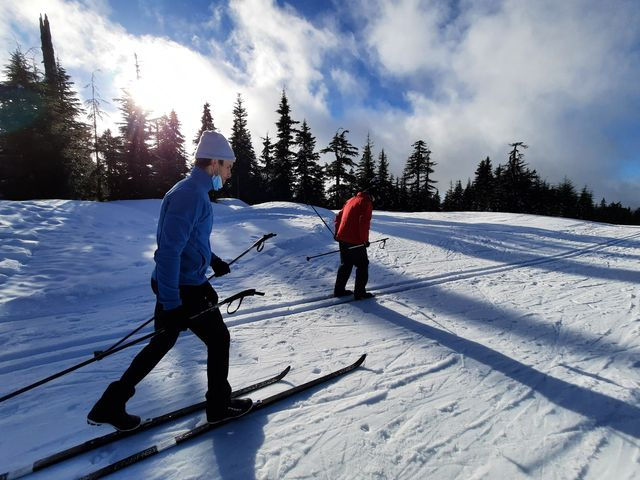 Cross Country Ski Lesson - March 20