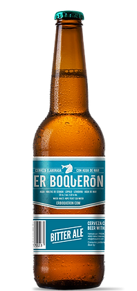 El Amargo Cerveza con Agua de Mar 33 cl.