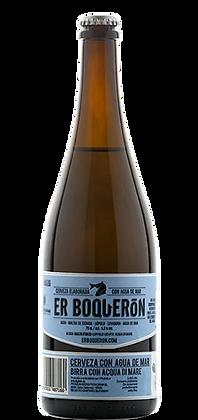 La Clasica Cerveza con Agua de Mar 75 cl.