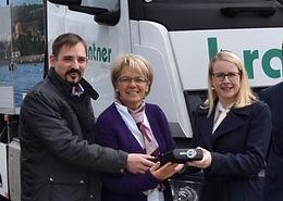 A.I. Testfahrt mit Ministerin für Digitalisierung Dr. Margarete Schramböck