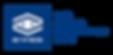 EYYES Logo im blauen Balken  plus  we ma