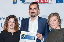 Innovationspreis des Landes Niederösterreich für AVI Systems
