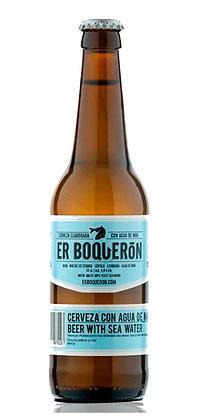 La Clasica Cerveza con Agua de Mar 33 cl.