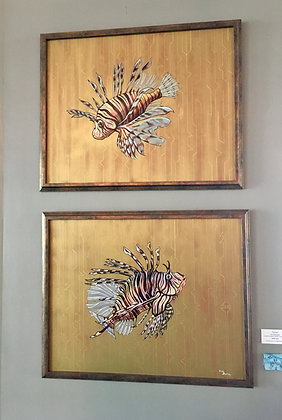 Lions (2-Canvas Set)