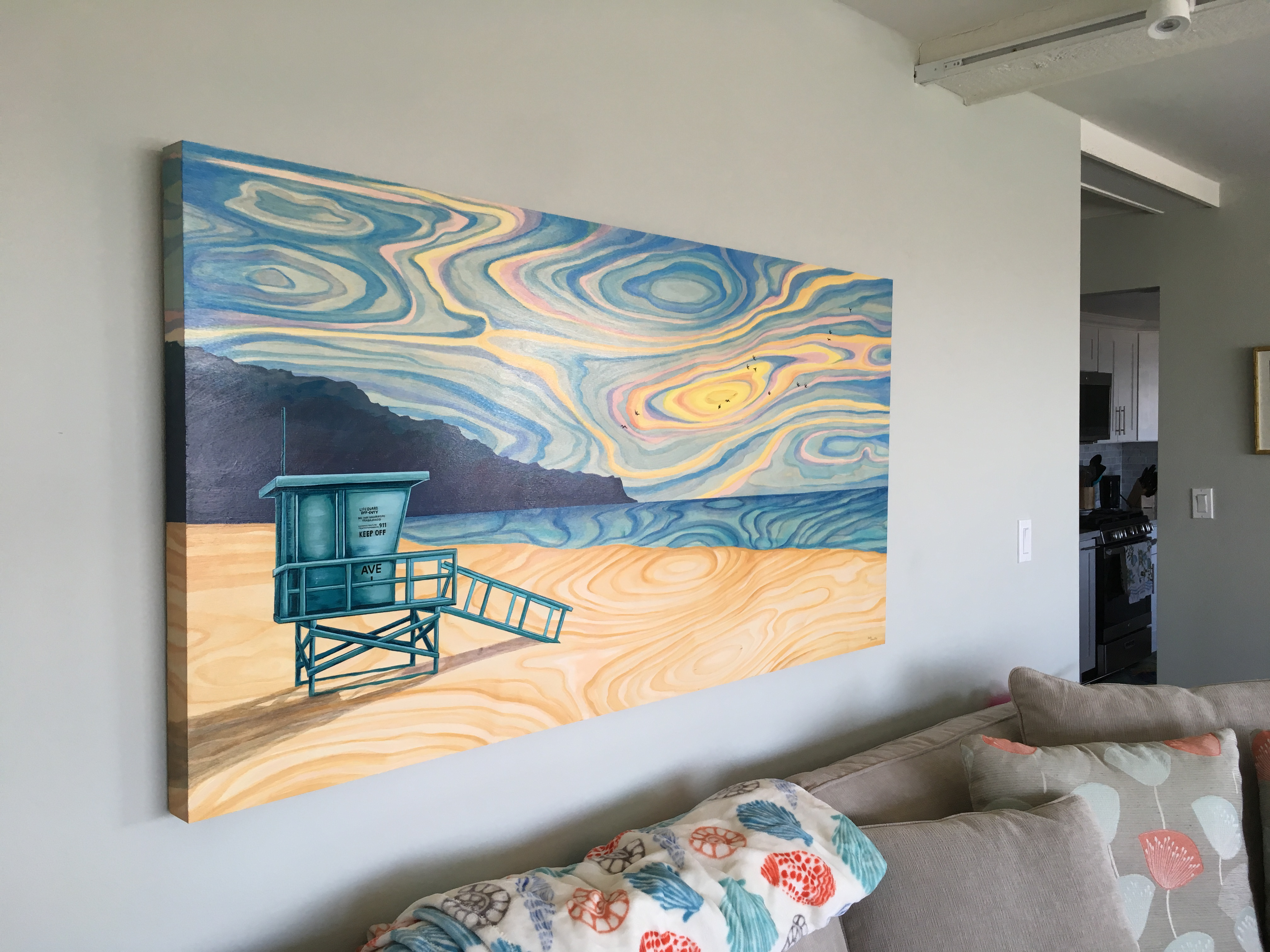 Avenue I Redondo Beach Painting