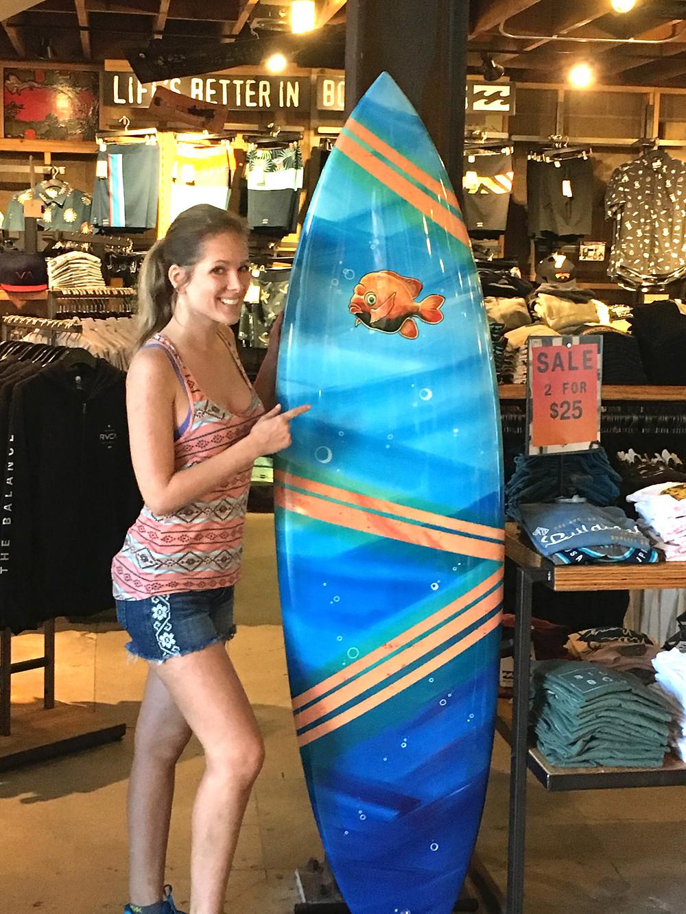 becker surfboard mermaid surf