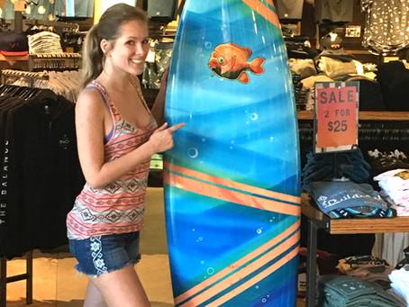 Mermaid Surfboard at Becker Surfboards