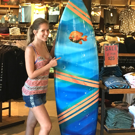 Mermaid Surfboard at Becker Surfboards