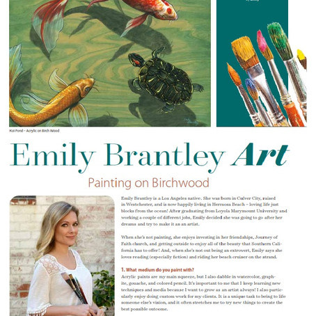 Featured in Sand & Strand Magazine!