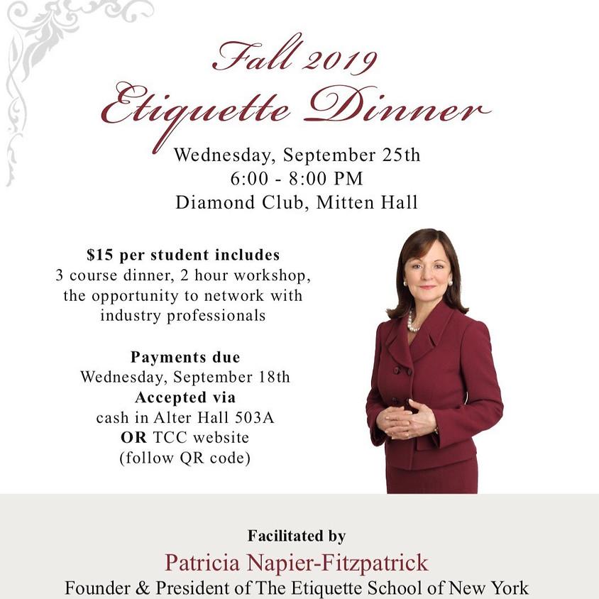 Etiquette Dinner 2019
