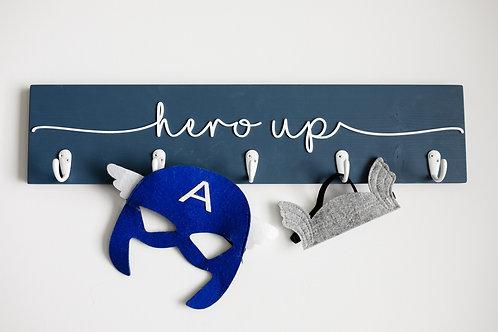 "3D 24"" Hero Up Costume Display Sign"