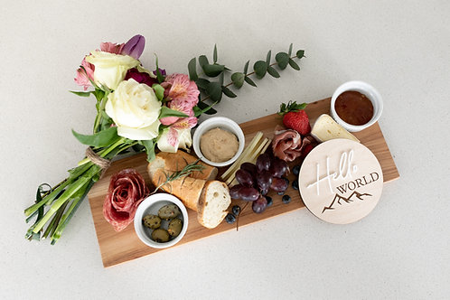 HELLO WORLD Charcuterie Gift Set