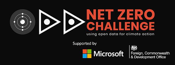 Net Zero Challenge logo with supporters