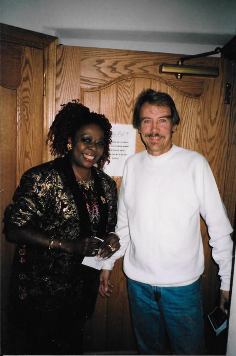 with sybil Thrasher