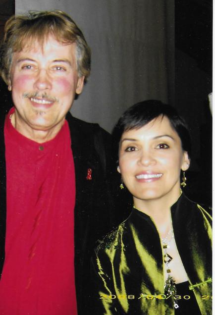 with Susan Aglukark