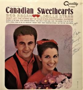 Bob Regan and  Lucille Starr