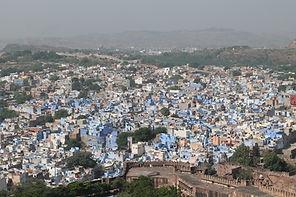 ג'ודפור- העיר הכחולה מתוך המסע לרג'סטאן עם סג'ידה בן צור