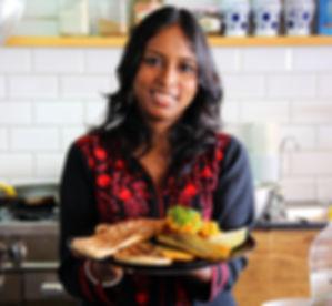 סג'ידה בן צור- שפית לאוכל הודי