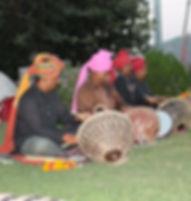מתופפים במסע להודו עם סג'ידה בן צור