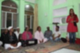 ביקור בבית ספר הודי- טיול להודו עם סג'ידה בן צור