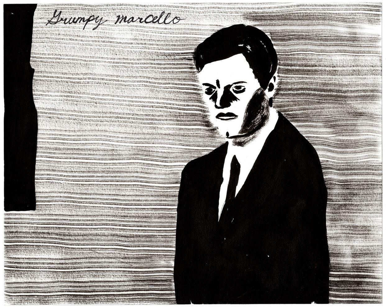 Study for Grumpy Marcello