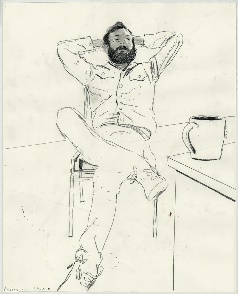 Andrew In Studio