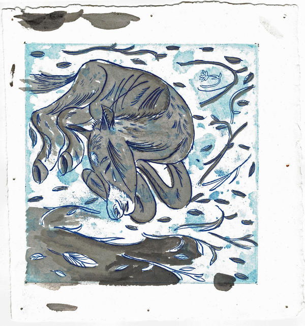 Blue Horse - Prood/Study #2