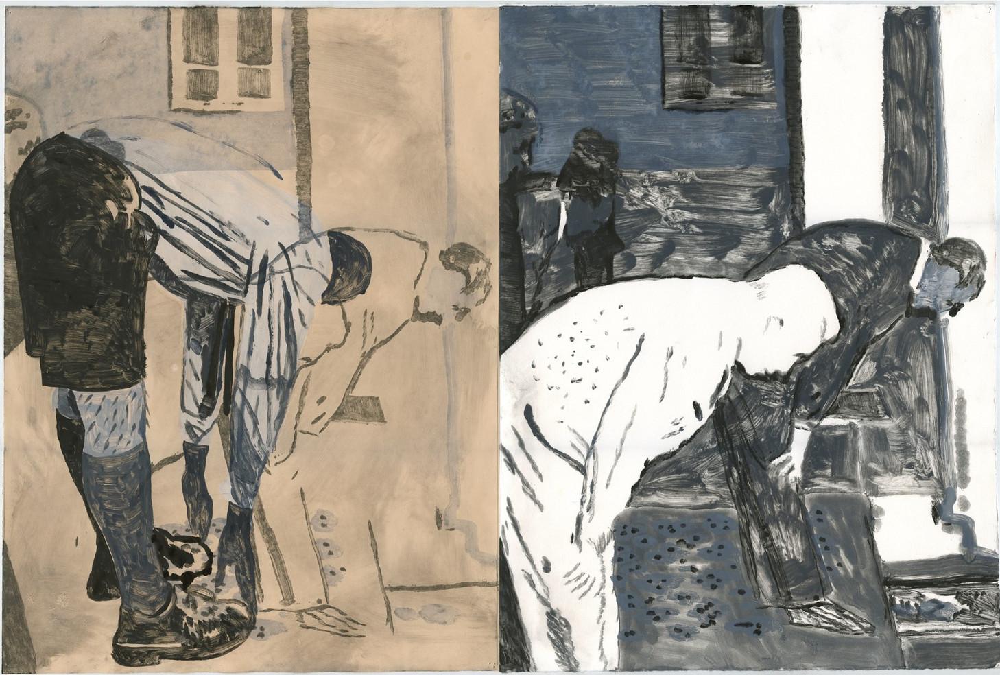 Well-Dressed-Men Praying
