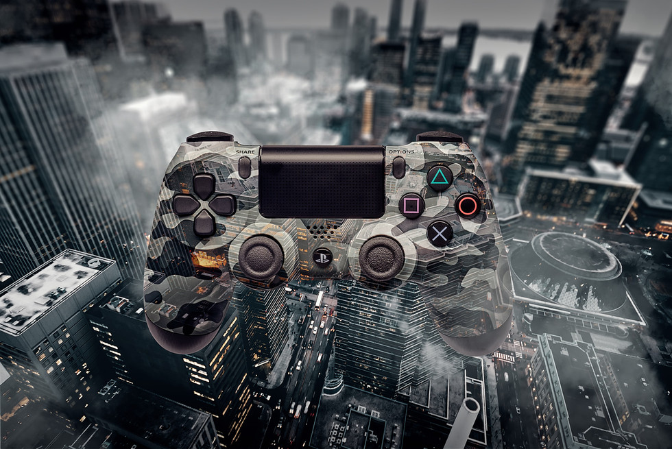 ps3 controller product shot retouch comp