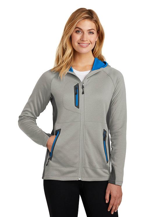 Eddie Bauer ® Ladies Sport Hooded Full-Zip Fleece Jacket EB245