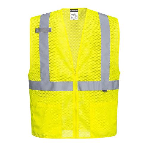 Economy Mesh Zipper Vest UC493