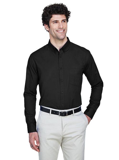 Core 365 Men's Operate Long-Sleeve Twill Shirt 88193